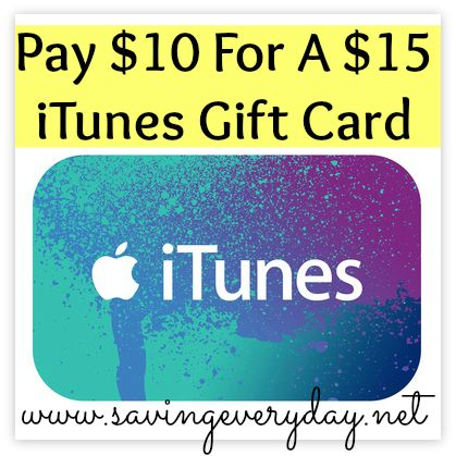 $15 itunes gift card code  HOT * Pay $15 For