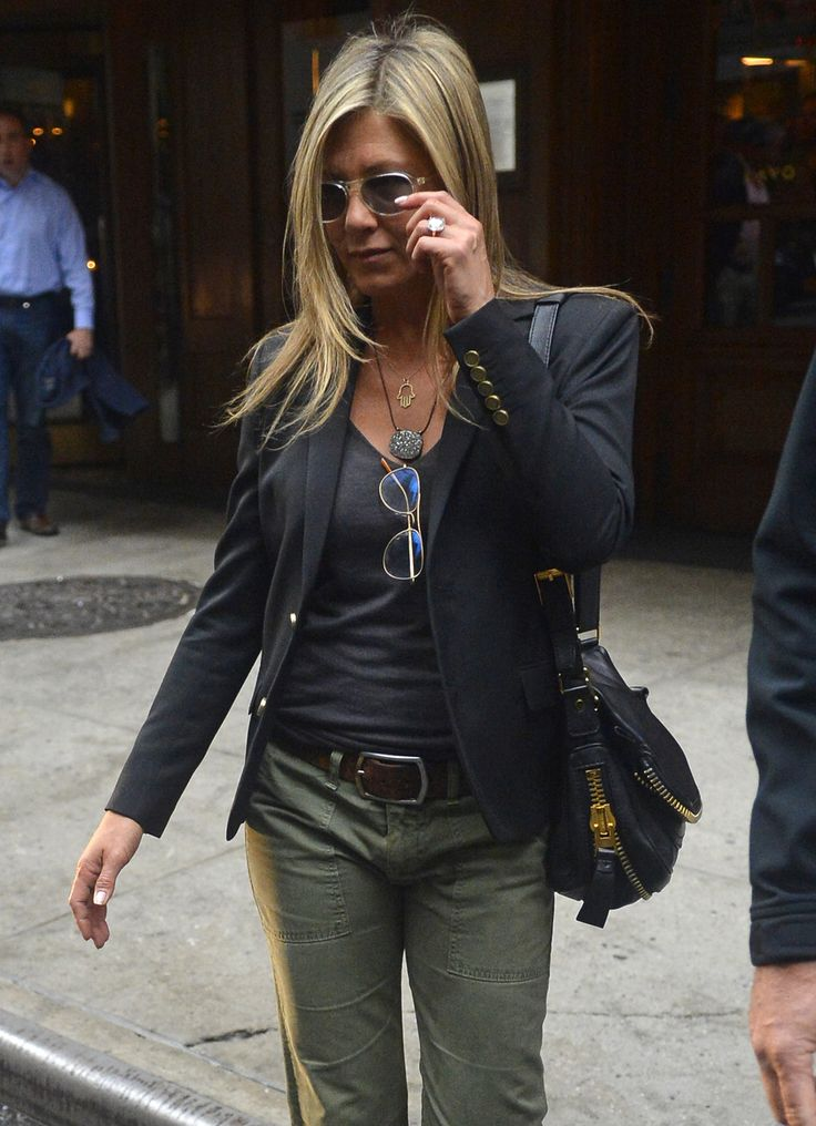 Jennifer Aniston Casual Blessed With Style Pinterest