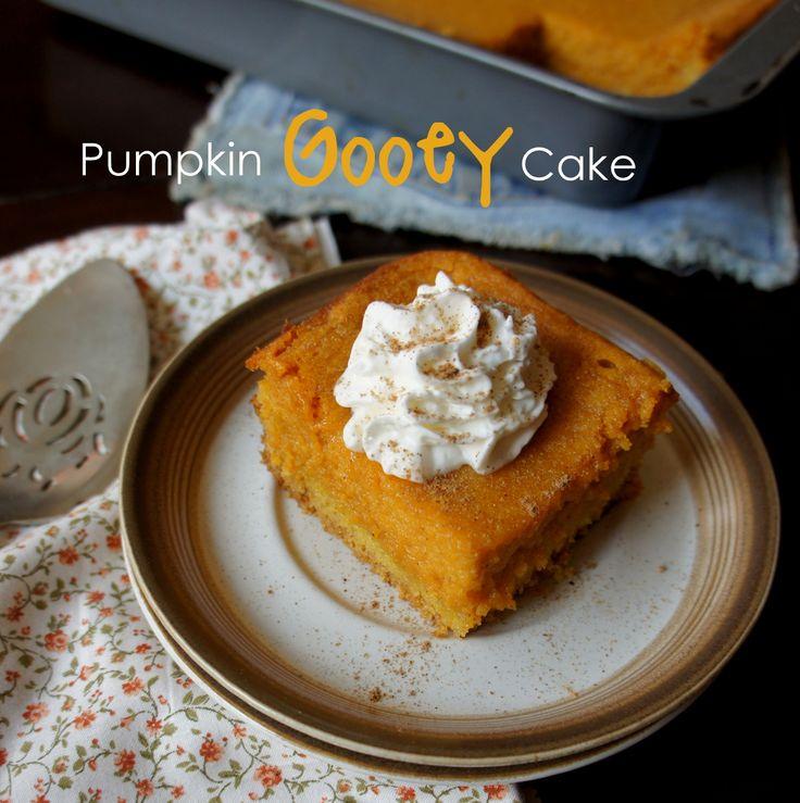 Pumpkin Gooey Cake   Pumpkin   Pinterest