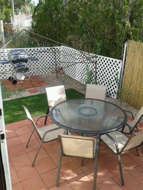 Small backyard patio ideas | Back Yards | Pinterest