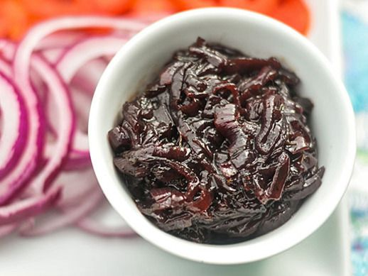 Red Onion Jam (uses 2lbs of onions and items you may already have on ...