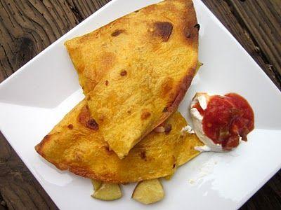 Apple Chicken Quesadillas | recipes | Pinterest