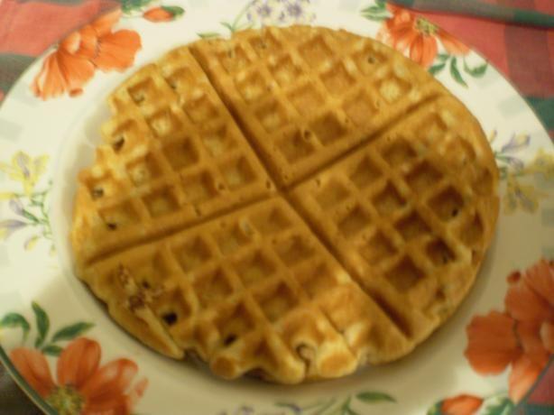 Whole-Grain Honeyed Waffles | Recipe