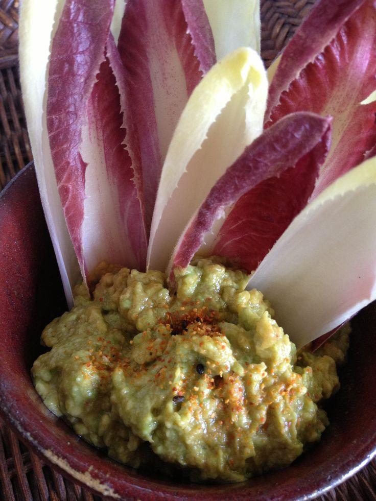 Asian-inspired guacamole with miso, lemon, dark sesame oil, sriracha ...