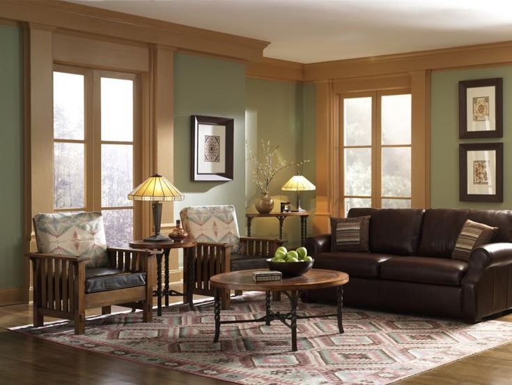 Craftsman style living room decorating ideas pinterest for Craftsman living room decorating ideas