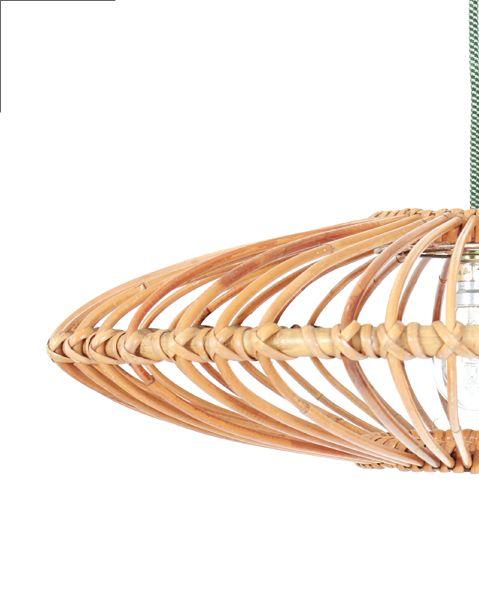 suspension rotin vintage meuble pinterest