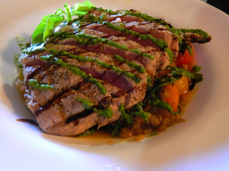 Pesce del Giorno ~ Yellowfin Tuna ~ Grilled yellowfin tuna filet ...