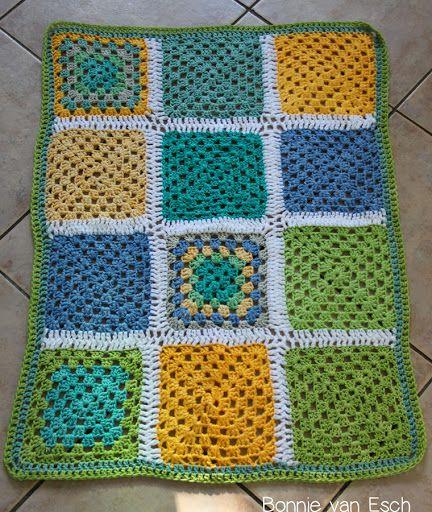 Crochet lap blanket Crochet: Odds-n-Ends Pinterest