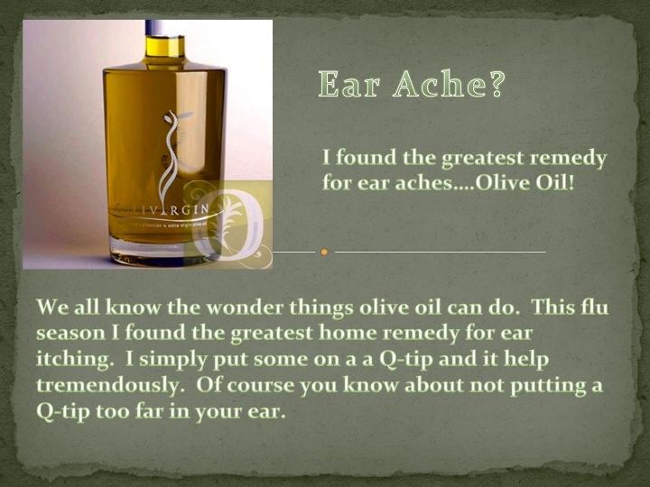 great raisin earache cure