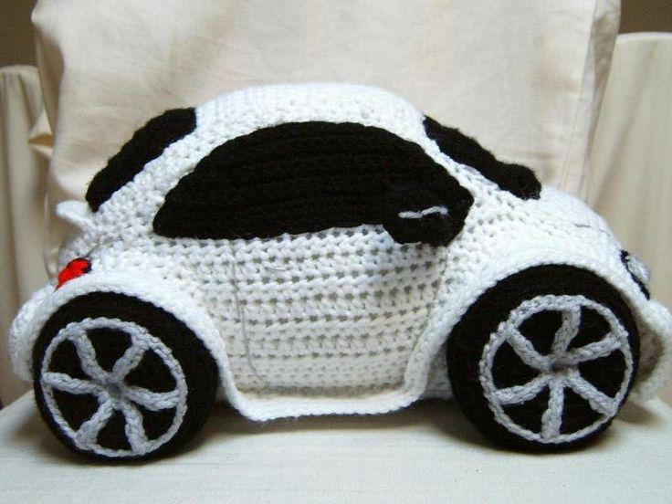 Amigurumi Beetle : Crocheting: Crocheted Beetle Car should be in Red...I so ...