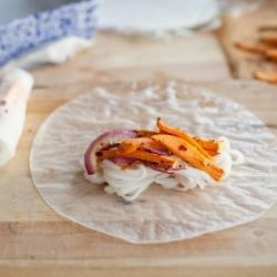Sweet Potato Spring Rolls | Recipes to try | Pinterest