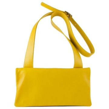 Brioche Convertible Bag Yellow  by Hester van Eeghen