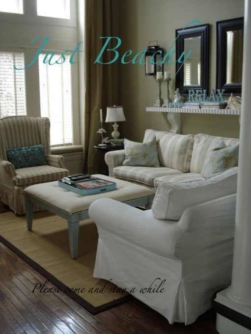 Just beachy living rooms design dream home pinterest