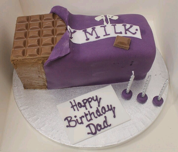 Cake With Chocolate Milk : Dairy Milk Chocolate Cake Super Duper Cakes Pinterest