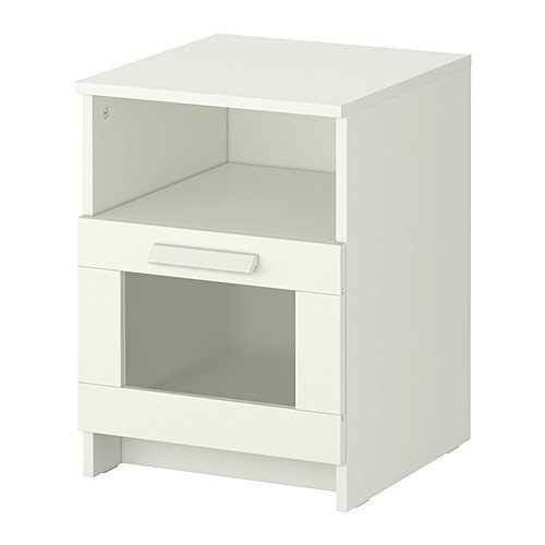 Ikea Hemnes Nightstand White ~ IKEA BRIMNES Nightstand $40