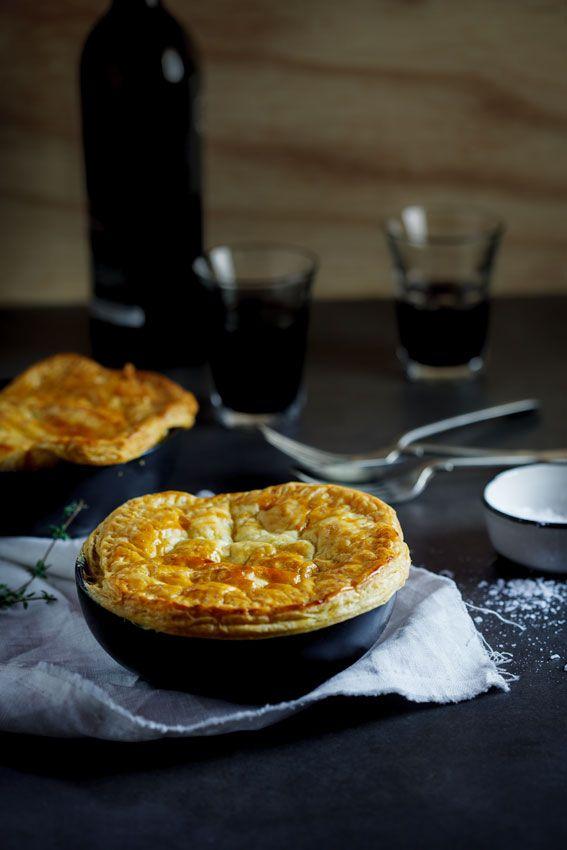 Chicken, corn and bacon pot pies | simply-delicious.co.za #Recipe # ...