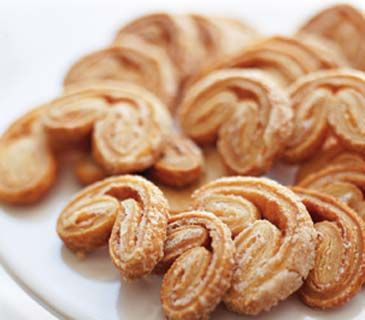 Palmiers--Making these until I can't bake anymore. I lovvvvve these ...