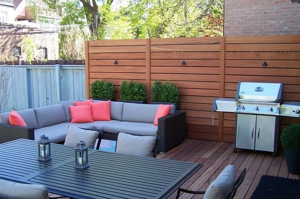 Privacy Deck Fence Home Projects Pinterest
