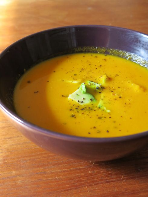 Curried Carrot Coconut Soup//Food,Mostly | Tengo hambre | Pinterest