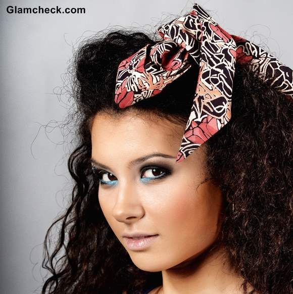 How to Wear Scarf as headband | Fashion Accessories | Pinterest
