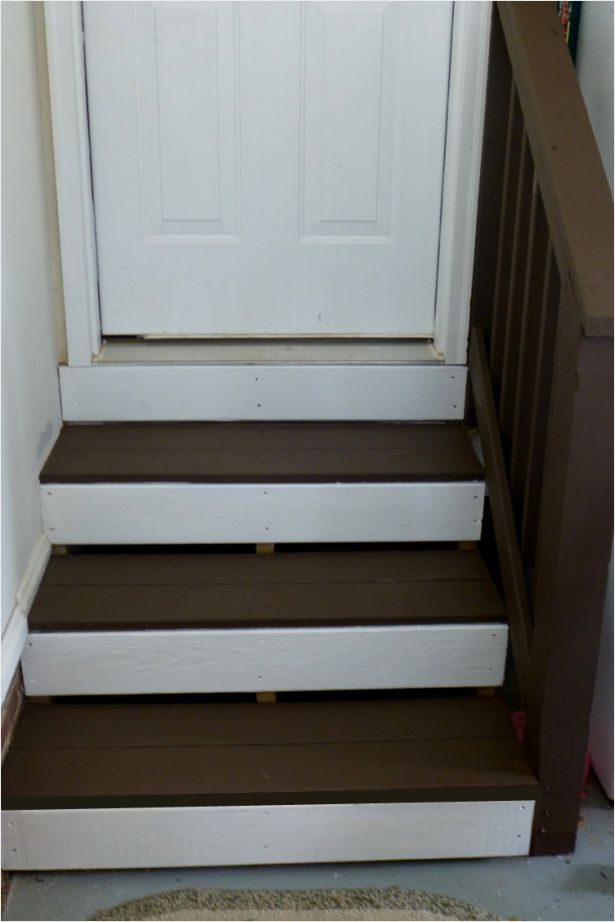 Garage steps for the home pinterest - How to build a garage cheaply steps ...