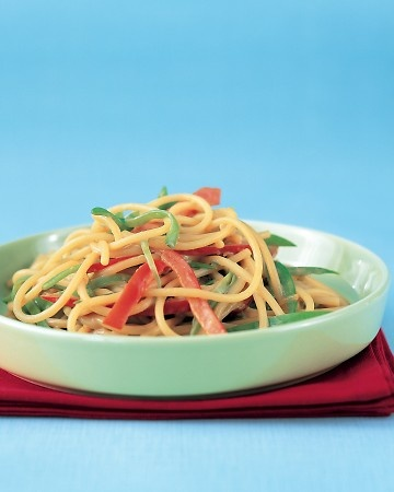Cold Sesame Noodles - this sounds interesting - will have to try