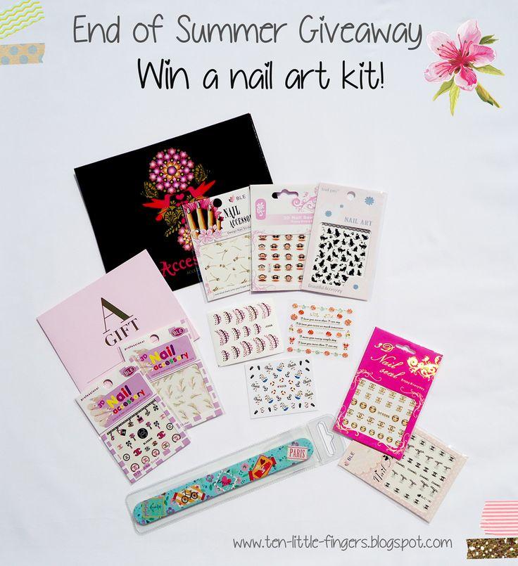 Enter here https www facebook com pages ten little fingers nail art