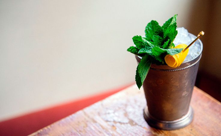 champagne julep cocktail recipe | Anyone Thirsty?! | Pinterest