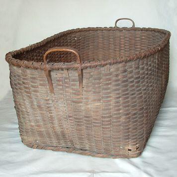 beautiful woven splint basket