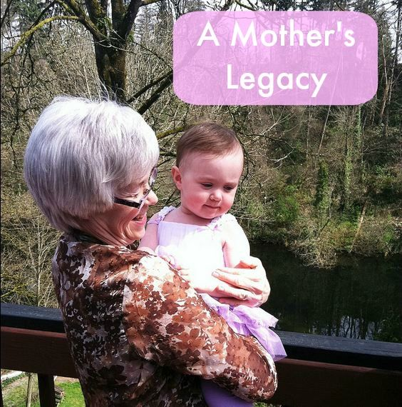 Leaving a legacy just like my moms...I hope.