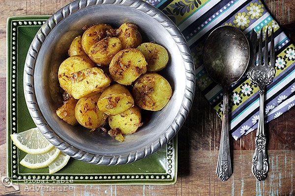 Great recipe for potlucks: Cumin Seed Potatoes | Batata b'kamun from ...