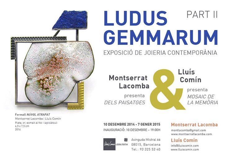 Ludus Gemmarum Part II by Lluís Comín and Montserrat Lacomba Exhibition  /  10 Dec 2014  -  07 Jan 2015 -