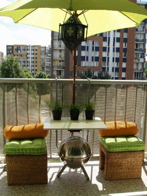 Sombrilla para la terraza outdoors terrazas balcones - Sombrilla para terraza ...
