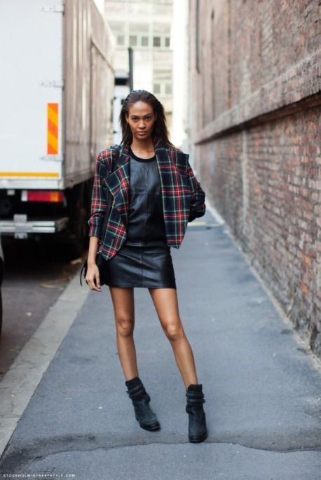 13 Trendy Ways to Wear Tartan This Fall & Winter
