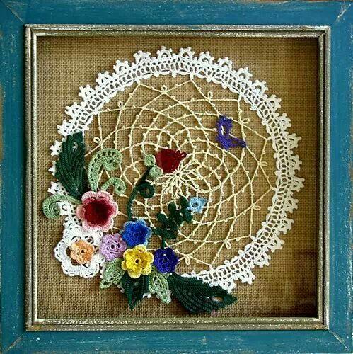 Irish crochet doily Crochet patterns Pinterest