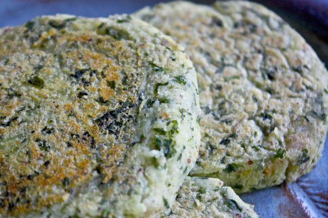 Mashed Potato Kale Cakes - v | Food! | Pinterest