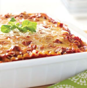 ! Turkey-Vegetable Lasagna from Seasons is made with ground turkey ...