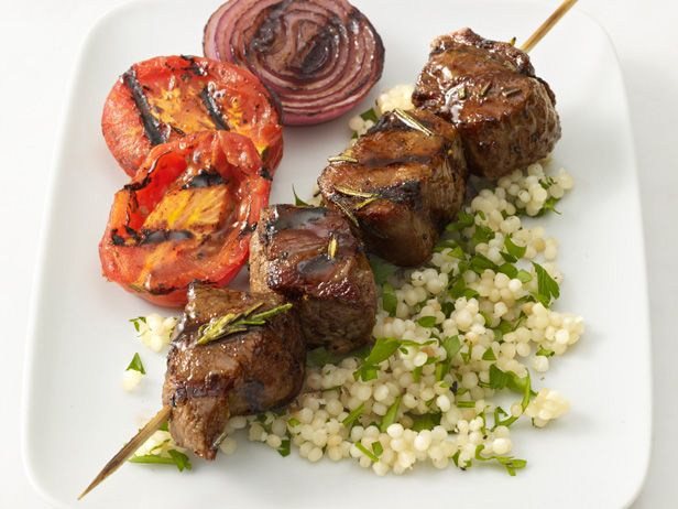 Beef Kebabs With Couscous Recipe : Food Network Kitchens : Food ...