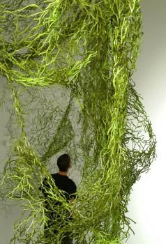 Ronan and Erwan Bouroullec, individual units of 'Algaes' pieced together.