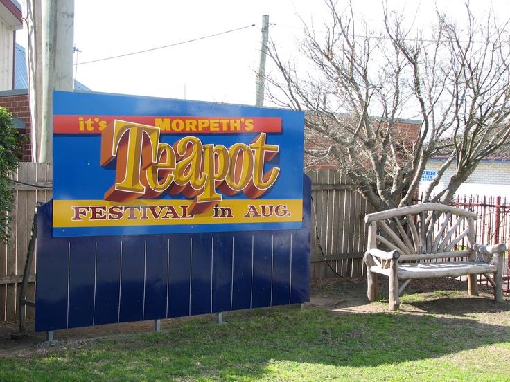 Morpeth Australia  City new picture : Teapot Festival in Morpeth, Australia | Teapots | Pinterest