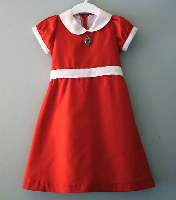 My grandma made me an annie dress went right along with my annie perm