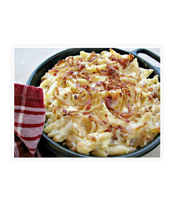 Mac & Cheese With Bacon recipe | Family Dinner Recipes | Pinterest