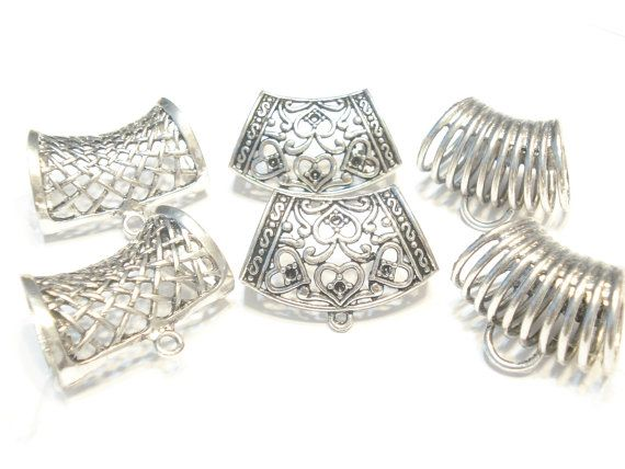 Scarf Bails New Arrival 6pcs 3 Style Metal Scarf by coreringscarf, $9.49