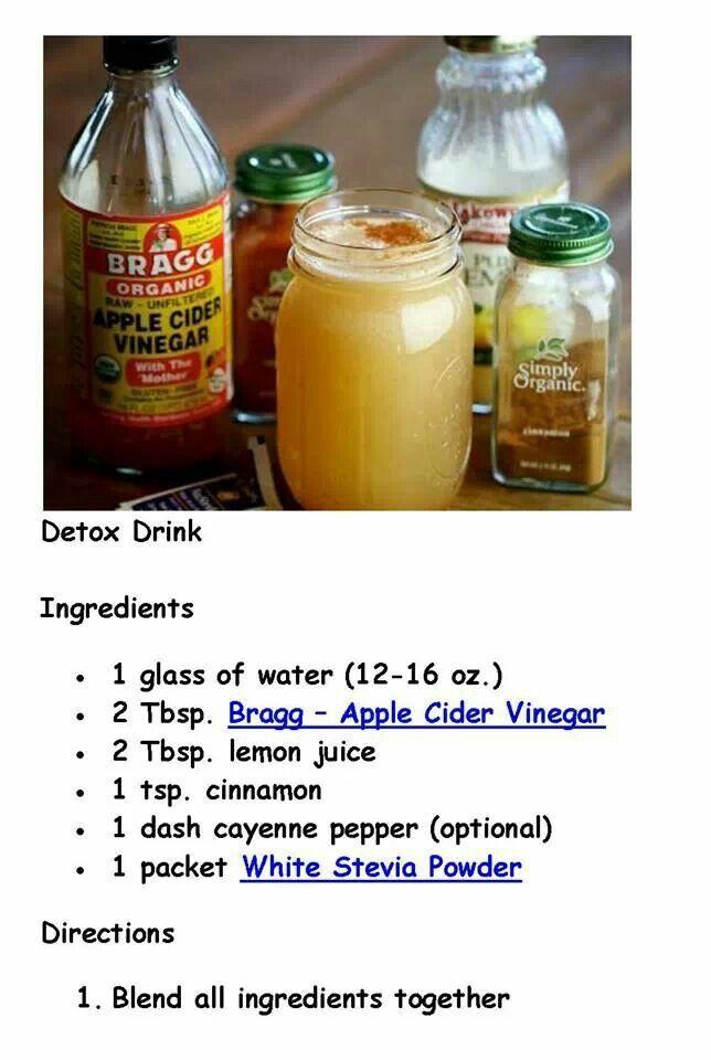 Detox drink body mind pinterest for Cocktail detox