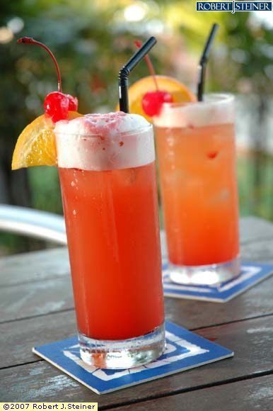 singapore sling | drinks | Pinterest