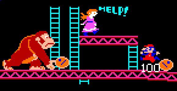Donkey Kong Arcade Games 1981