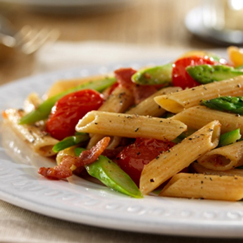 PENNE WITH ASPARAGUS AND PROSCIUTTO | Food | Pinterest