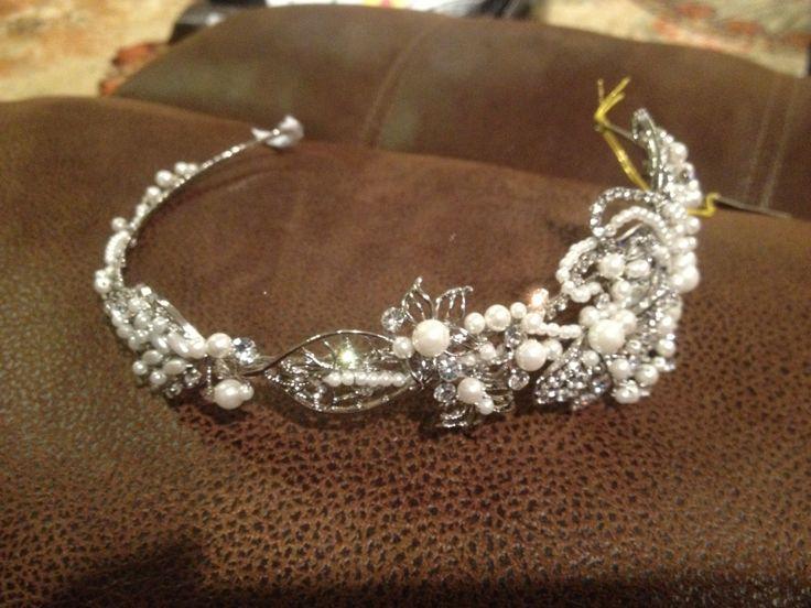 My headpiece/tiara