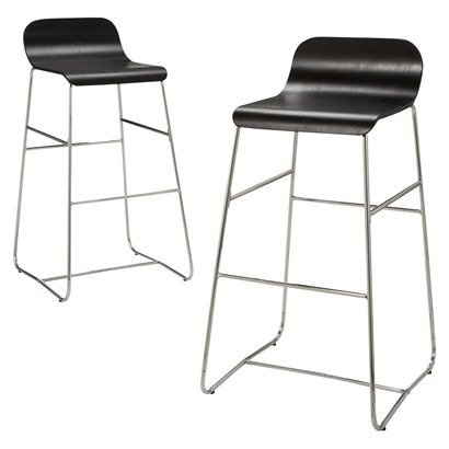 "Room Essentials® 29"" Bentwood Barstool - Set of 2 - Espresso"