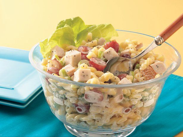 Chicken Pasta Salad with Poppy Seed Dressing | Recipe